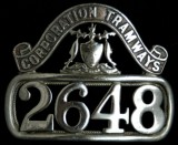 Glasgow motorman badge